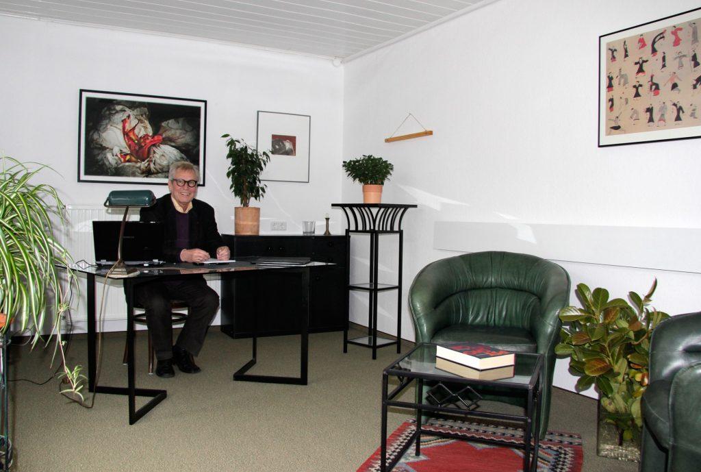 Praxisraum, mein Arbeitszimmer, Rahmenbedingungen einer Psychotherapie